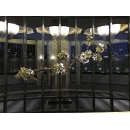 壁飾花藝-y16188花藝設計.花材果樹 花藝設計-壁式花藝