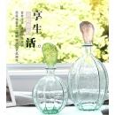 玻璃花器- y16287 立體雕塑.擺飾 立體擺飾系列 - 器皿.花器系列 / 擺件插花