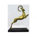 y12391 銅雕 - 銅雕動物 - 跳羚羊