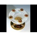 玻璃水晶 琉璃燭臺  y12764 水晶飾品系列