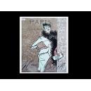 瓷版.陶版畫-陶瓷手繪工藝畫TIL12 (y00246 畫作系列-33 cm x 41 cm )