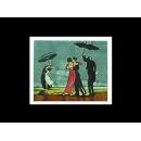 瓷版.陶版畫-陶瓷手繪工藝畫TIL17 (y00251 畫作系列-33 cm x 41 cm)