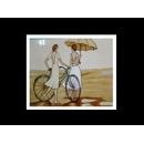瓷版.陶版畫-陶瓷手繪工藝畫TIL30(y00264 畫作系列-33 cm x 41 cm )