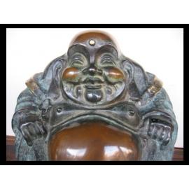 y12380 銅雕財神爺(大)