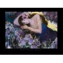 y00456 複製畫 Sun-Violet Dreams S795