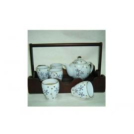 y00537 日式花流茶具組(不附提籃)H3093-02