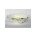 y00591 燦金骨瓷湯碗23cmH0203-13