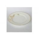 y00594 燦金骨瓷平盤26.5cm H0203-10