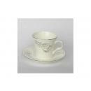 y00606 白金牡丹骨瓷咖啡杯盤組 H0202-18