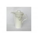 y00607 白金牡丹骨瓷咖啡壺 H0202-17