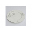 y00615白金牡丹骨瓷平盤25.5cm H0202-09