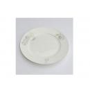 y00616白金牡丹骨瓷平盤21.5cm H0202-08