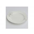 y00617 白金牡丹骨瓷平盤15cm H0202-07