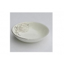 y00622白金牡丹骨瓷調味盤7.5cm H0202-02