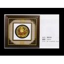 瓷版.陶版畫-圓財神 A0013 (y00638 畫作系列67.5 cm x 67.5 cm)
