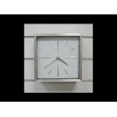 簡約超靜音鋁製壁鐘 y00696  時鐘.溫度計.鏡子 溫度計.壁掛鐘 H5273