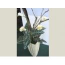 y01019人造花藝 海芋