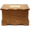 y01130西班牙鄉村風情-紐西蘭雲杉木收納椅-台灣製造
