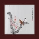 y01134 國畫 陳牧-冰清玉潔