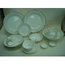 y01146中式餐具組- 皇家白金27件組