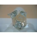 玻璃水晶白金豬 y01170 水晶飾品系列