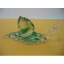 玻璃水晶蝸牛-綠 y01177 水晶飾品系列