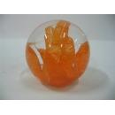 玻璃水晶橘粉 y01189 水晶飾品系列
