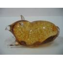 玻璃水晶茶點豬 y01195 水晶飾品系列 No.037