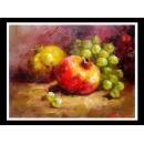 水果靜物-y01269油畫