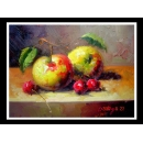 水果靜物-y01270油畫