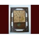 音符陶板掛鐘 y01303 時鐘.溫度計.鏡子 溫度計.壁掛鐘