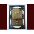 蟋蟀仿古框掛鐘 y01306 時鐘.溫度計.鏡子 溫度計.壁掛鐘047