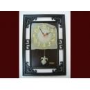 葉子仿古框掛鐘 y01308 時鐘.溫度計.鏡子 溫度計.壁掛鐘 葉子仿古框掛鐘046