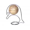 可愛海豚造型地球儀-仿古色(英文版) y01318 立體雕塑.擺飾 地球儀系列--無庫存