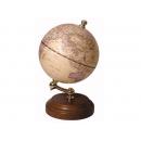 精緻實木底座地球儀-仿古色(英文版) y01319 立體雕塑.擺飾 地球儀系列--無庫存
