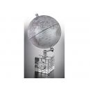 時尚造型時鐘地球儀 y01330 立體雕塑.擺飾 地球儀系列--無庫存