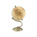 流線造型仿古霧面地球儀-銅色 y01334  LA-1055-5 立體雕塑.擺飾 地球儀系列--無庫存