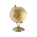 時尚造型仿古霧面地球儀-銅色 y01337 立體雕塑.擺飾 地球儀系列--無庫存