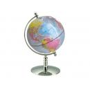 彩色亮面地球儀 y01338 立體雕塑.擺飾 地球儀系列--無庫存