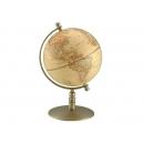 仿古銅色霧面地球儀 y01340 立體雕塑.擺飾 地球儀系列--無庫存
