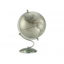 銀色流線型地球儀 y01345 立體雕塑.擺飾 地球儀系列--無庫存