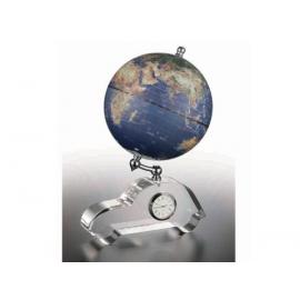 汽車造形時鐘功能地球儀y01362 LV-1058-4 立體雕塑.擺飾 地球儀系列--無庫存