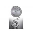 水晶底座特殊造型地球儀y01363 LV-1055 立體雕塑.擺飾 地球儀系列--無庫存
