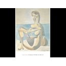 y01428畢卡索Picasso複製畫Seated Bather, 1930  P802