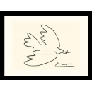 y01436畢卡索Picasso複製畫Dove of Peace (serigraph)  P459