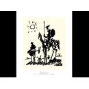 y01437畢卡索Picasso複製畫Don Quixote  P446