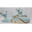 y01497(陶藝品)貓家族K002253(無庫存)