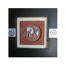 y01576金牛座立體浮雕壁飾