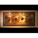 y01589銅雕系列-銅雕壁飾-太極銅雕壁飾