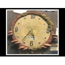 香菇壁掛鐘 y01599  時鐘.溫度計.鏡子 溫度計.壁掛鐘